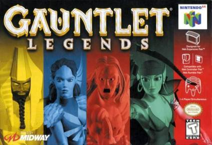 Gauntlet Legends1