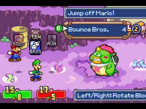 Mario Luigi SuperStar Saga(2)