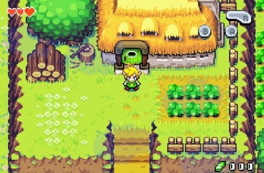Legend of Zelda Minish Cap(2)